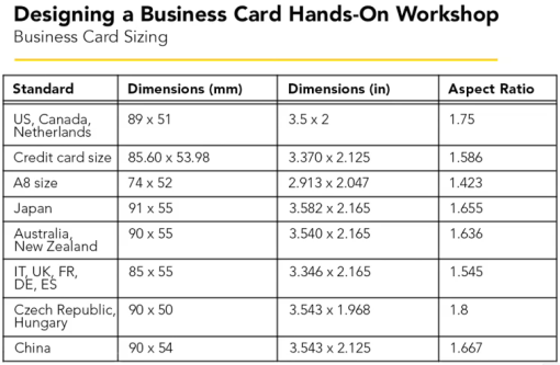 bussiness card - all